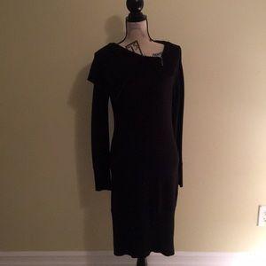 Uptown Girl knit long sleeve dress